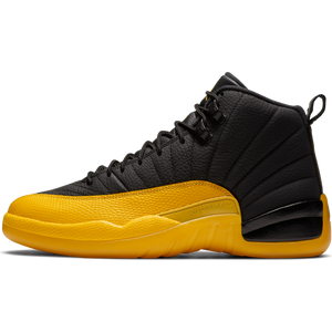 AIR JORDAN M'S FOOTWEAR JORDAN 12 RETRO - BLACK/UNIVERSITY GOLD