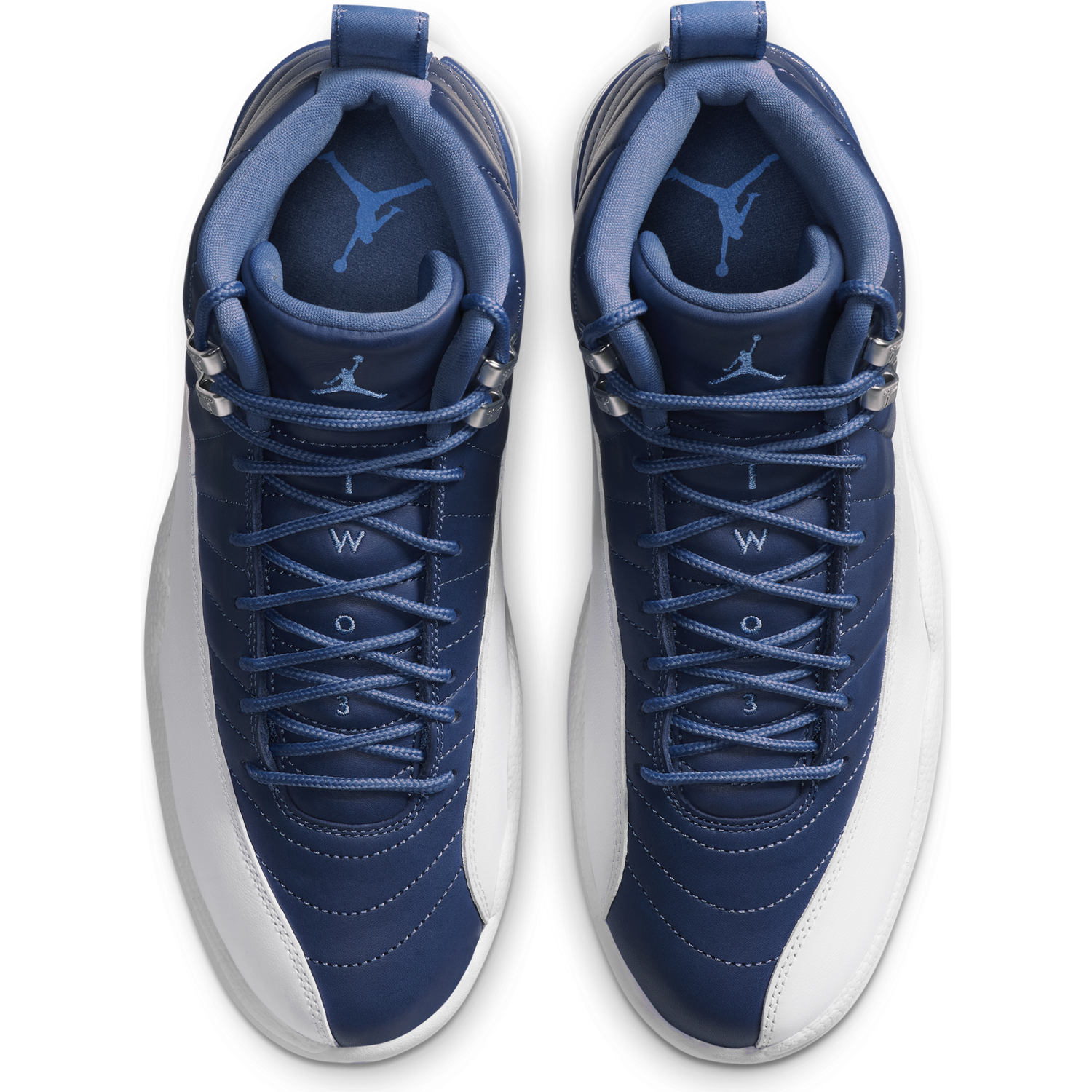AIR JORDAN M'S FOOTWEAR JORDAN 12 RETRO - STONE BLUE