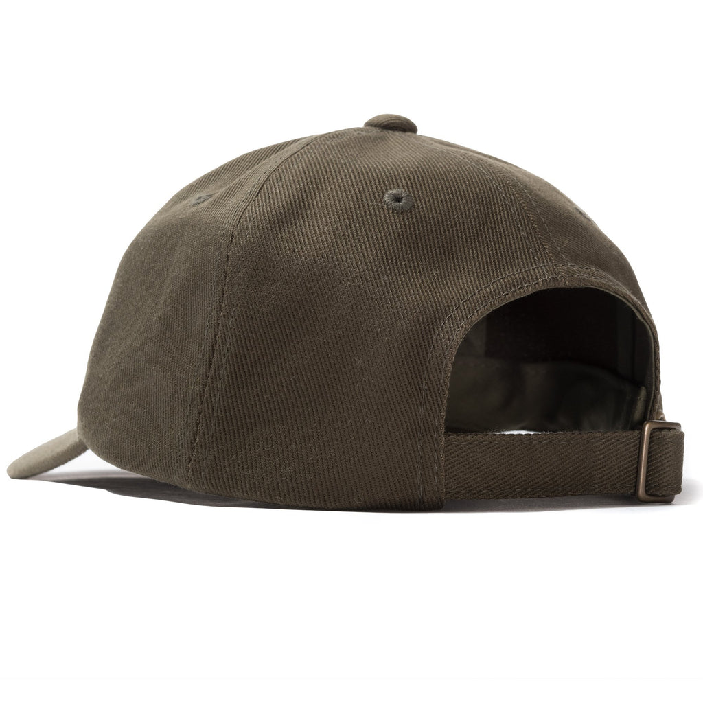 BIG LOGO LOW PRO CAP - NAVY & OLIVE