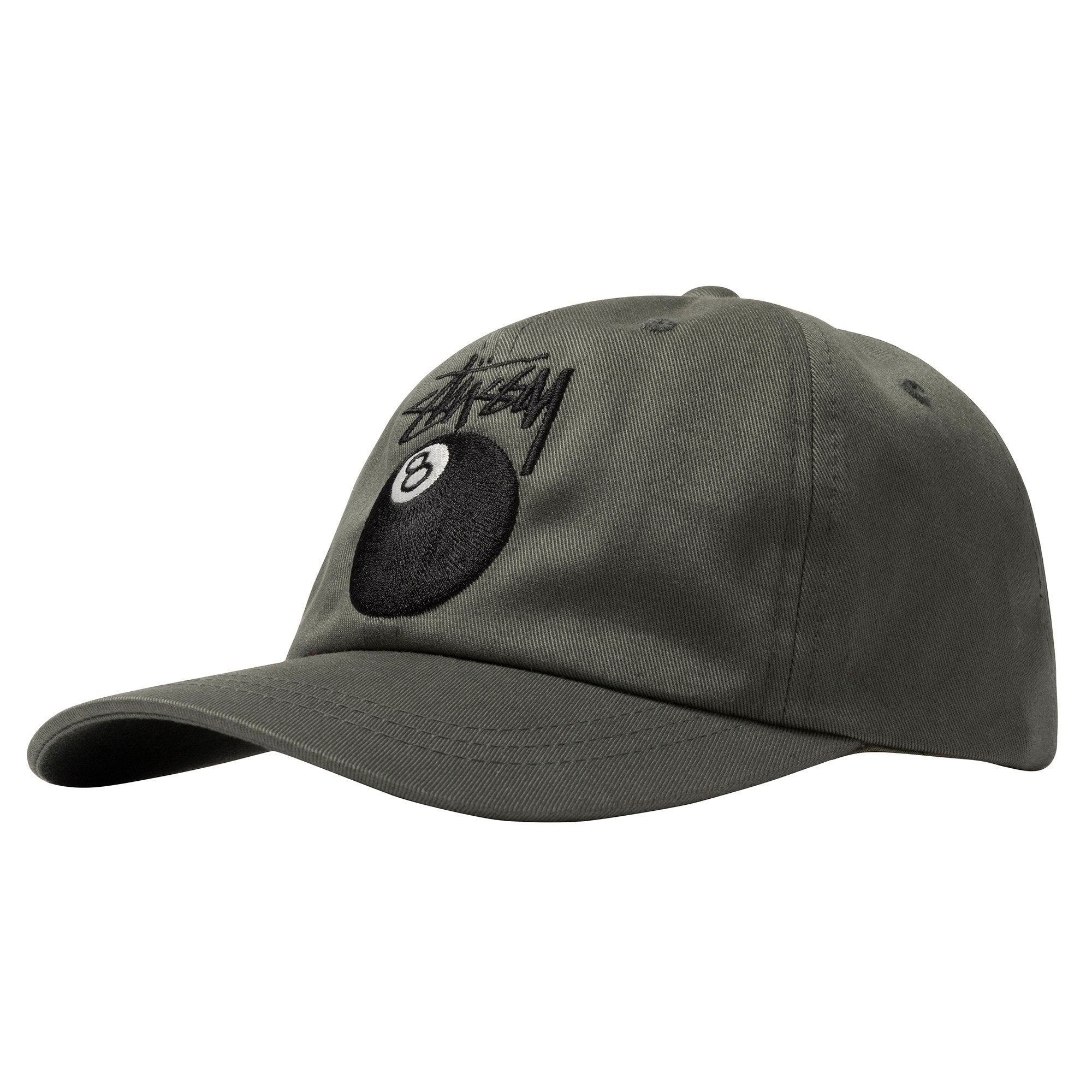 STUSSY HATS STOCK 8 BALL LOW PRO CAP