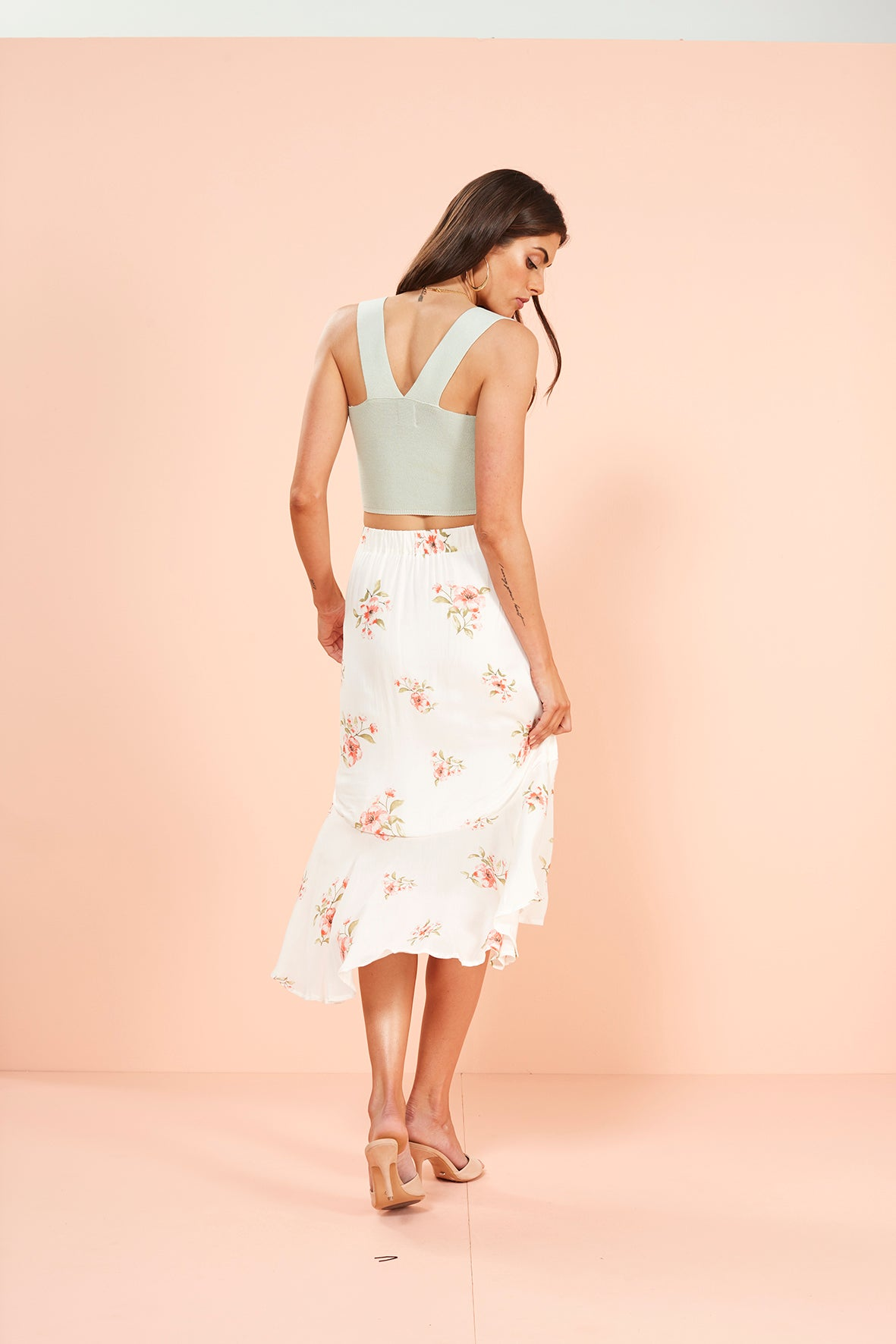 SWEET DELILAH MIDI SKIRT