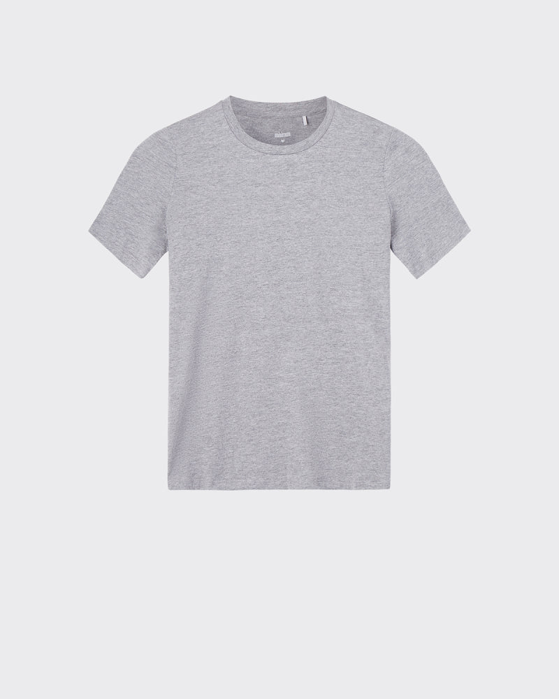 MINIMUM W'S T-SHIRTS LIGHT GREY XS KIMMA SHORT SLEEVED T-SHIRT 0248