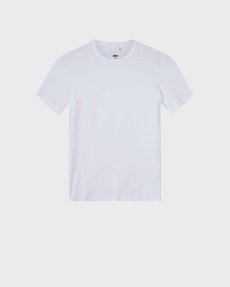 MINIMUM W'S T-SHIRTS WHITE XS KIMMA SHORT SLEEVED T-SHIRT 0248