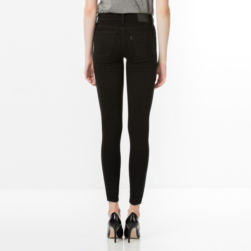LEVIS W'S PANTS 710 SUPER SKINNY JEANS - SECLUDED ECHO