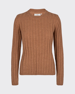 MINIMUM W'S SWEATERS TOBACCO XS BASTA JUMPER 6420