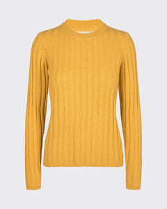 MINIMUM W'S SWEATERS MISTED YELLOW S BASTA JUMPER 6420