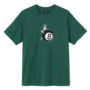 STUSSY M'S T-SHIRTS BEHIND THE 8 BALL TEE