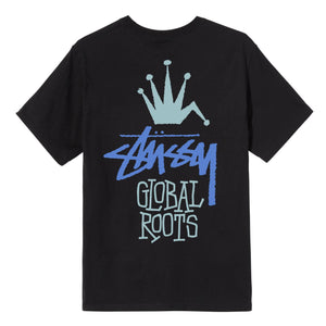 STUSSY M'S T-SHIRTS GLOBAL ROOTS TEE