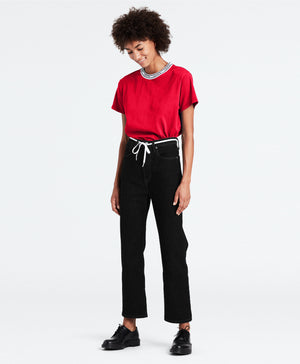 LEVIS W'S PANTS RIBCAGE STRAIGHT ANKLE WOMEN'S JEANS