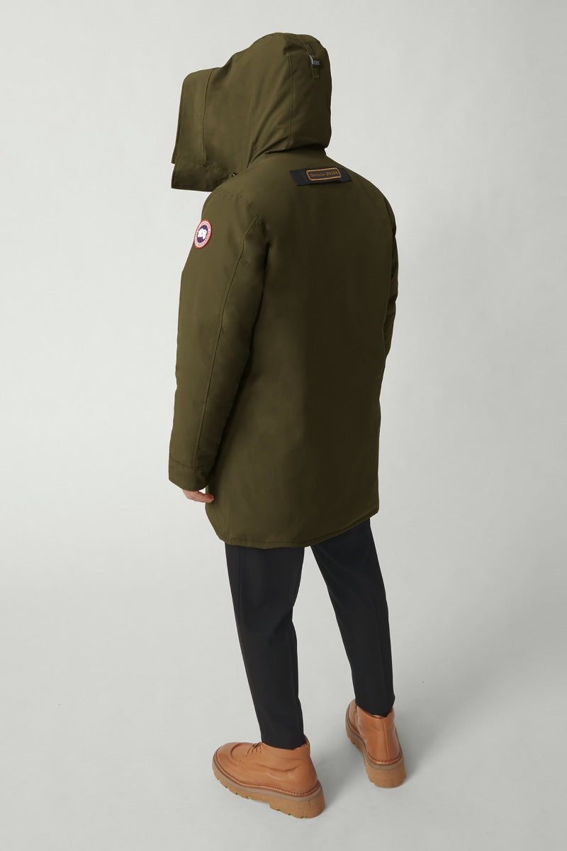 CANADA GOOSE M'S OUTDOOR JKT LANGFORD PARKA - MILITARY GREEN