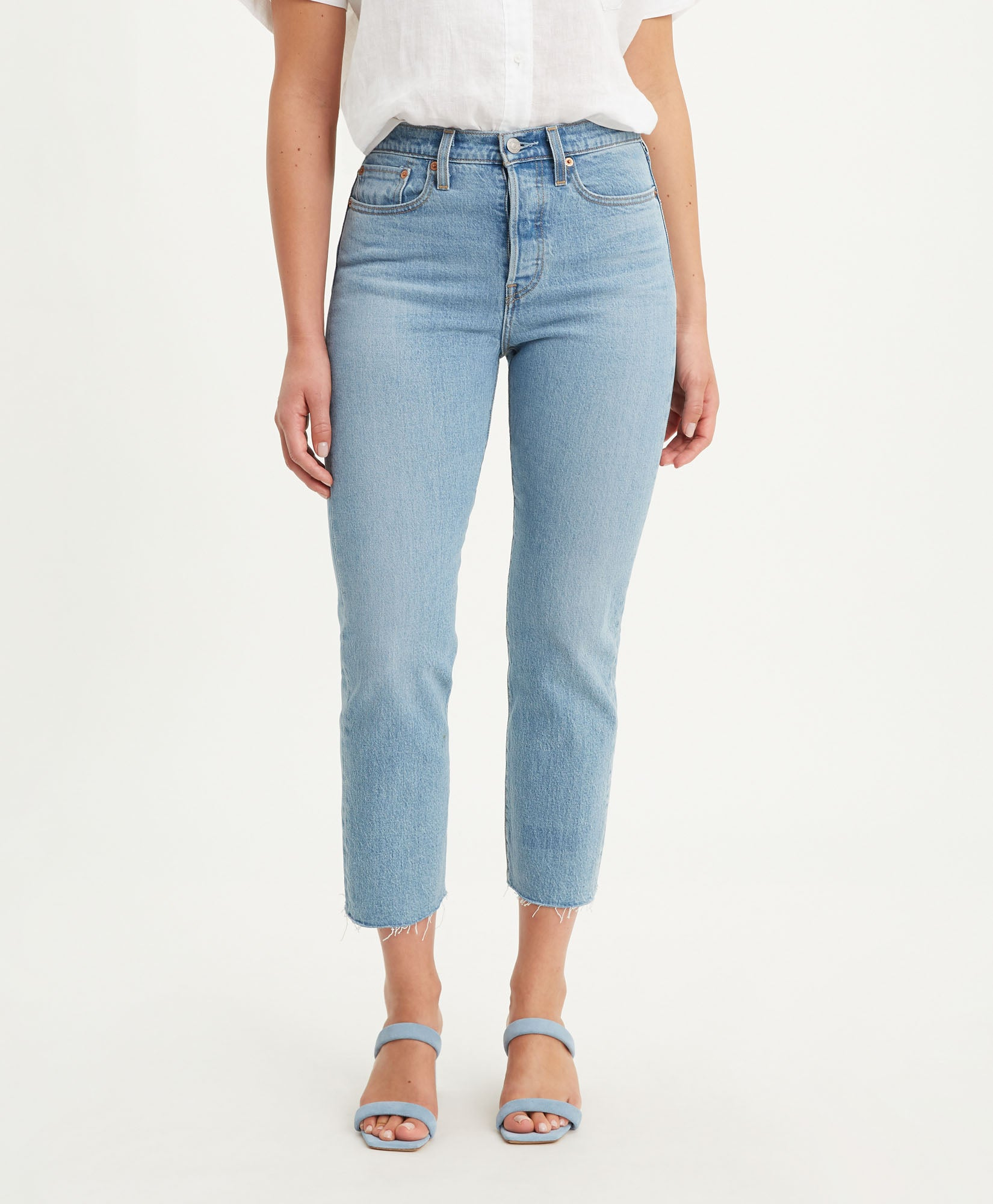 LEVIS W'S PANTS WEDGIE FIT STRAIGHT WOMEN'S JEANS