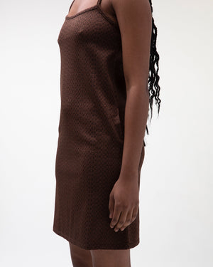 STUSSY W'S DRESSES TONAL JACQUARD DRESS
