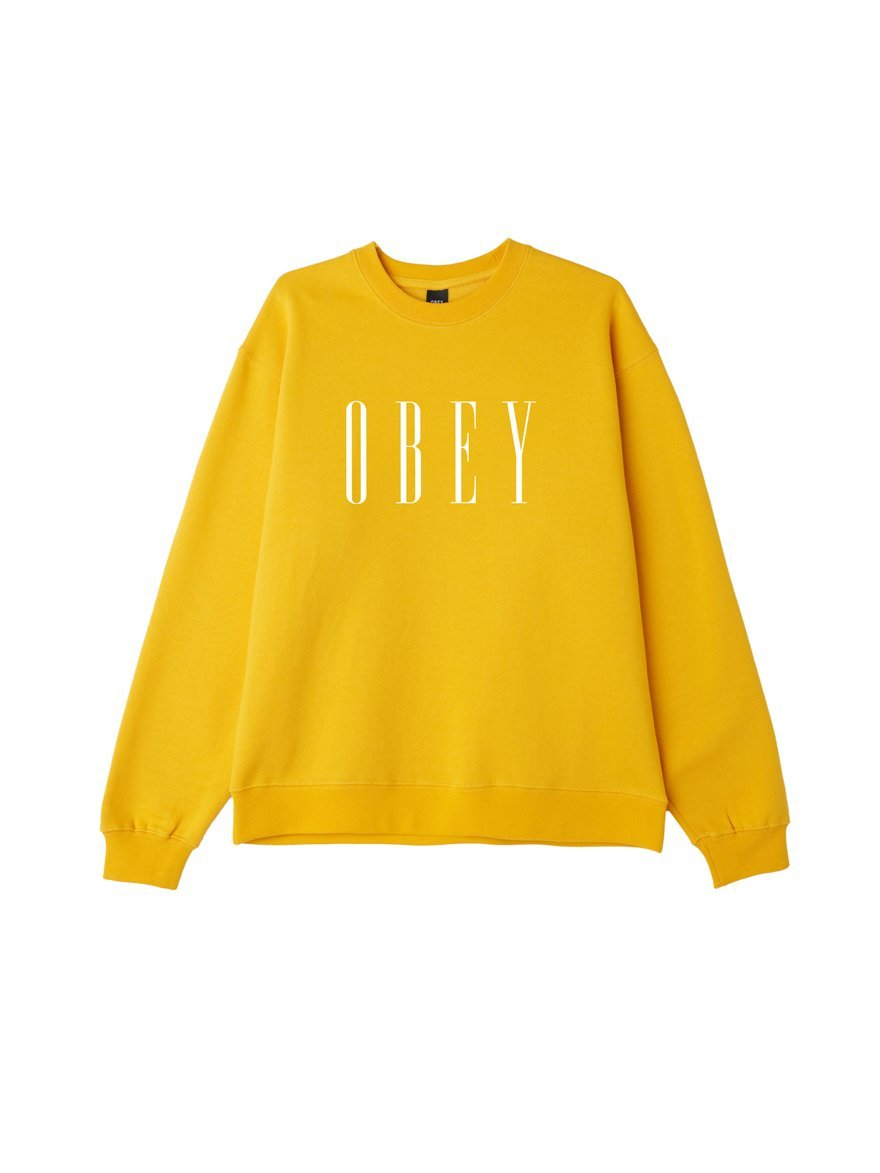 OBEY NEW BOX FIT CREWNECK