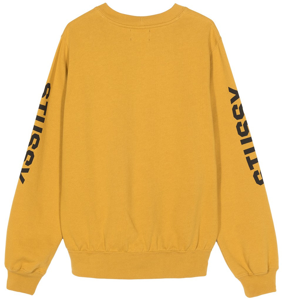 STUSSY W'S SWEATERS REPEAT CREW FLEECE