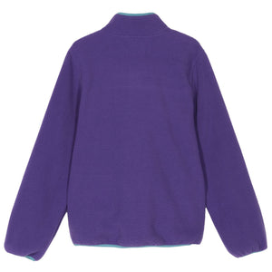 SUMMIT HALF ZIP POLAR FLEECE - PURPLE OR BLACK