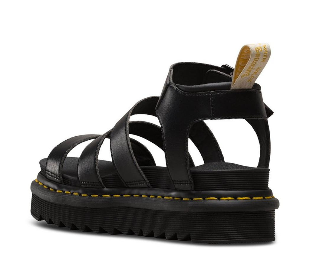 VEGAN BLAIRE SANDAL BLACK FELIX RUB OFF