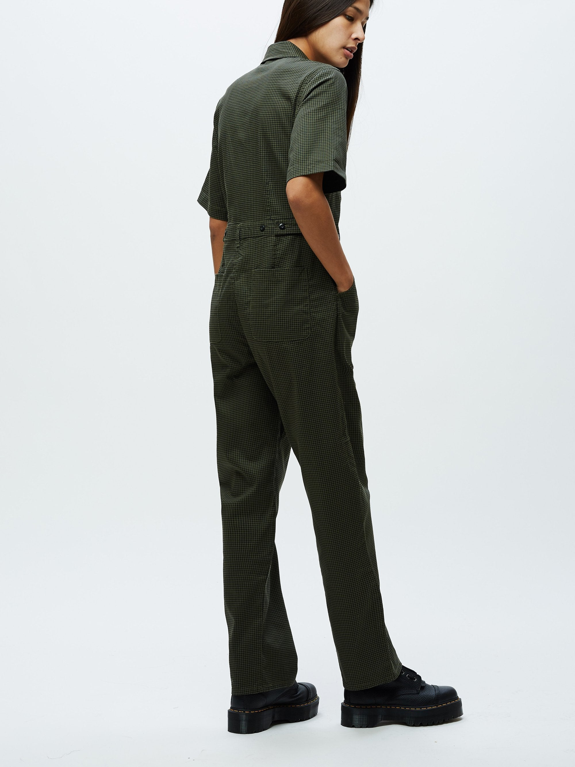 OLLIE COVERALL - OLIVE