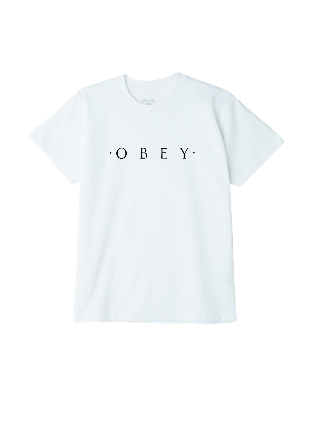NOVEL OBEY SUSTAINABLE TEE