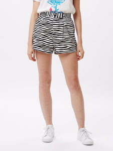 OBEY W'S SHORTS SLACKER SHORT - WHITE MULTI