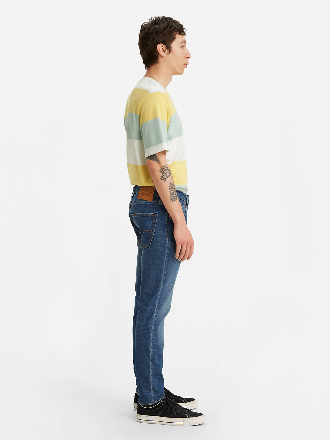 LEVIS M'S PANTS 512 SLIM TAPER JEANS - FOLSOM BLUES