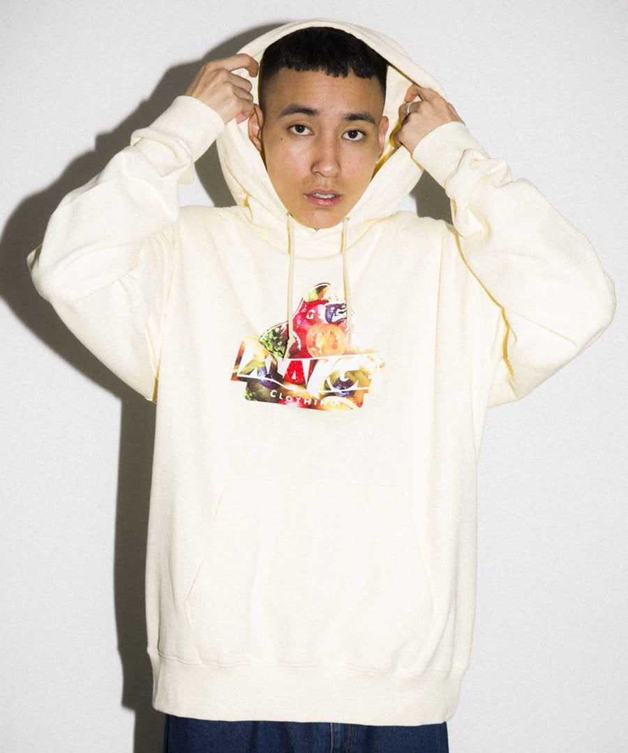INGREDIENTS OG PULLOVER HOODED SWEAT - YELLOW
