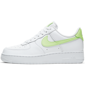 NIKE W'S FOOTWEAR W AIR FORCE 1 '07 - WHITE/BARELY VOLT