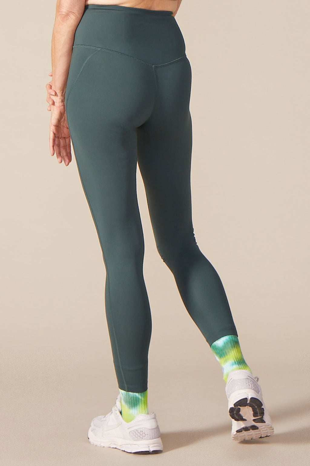"COMPRESSIVE HIGH-RISE LEGGING 28.5"" - MOSS"