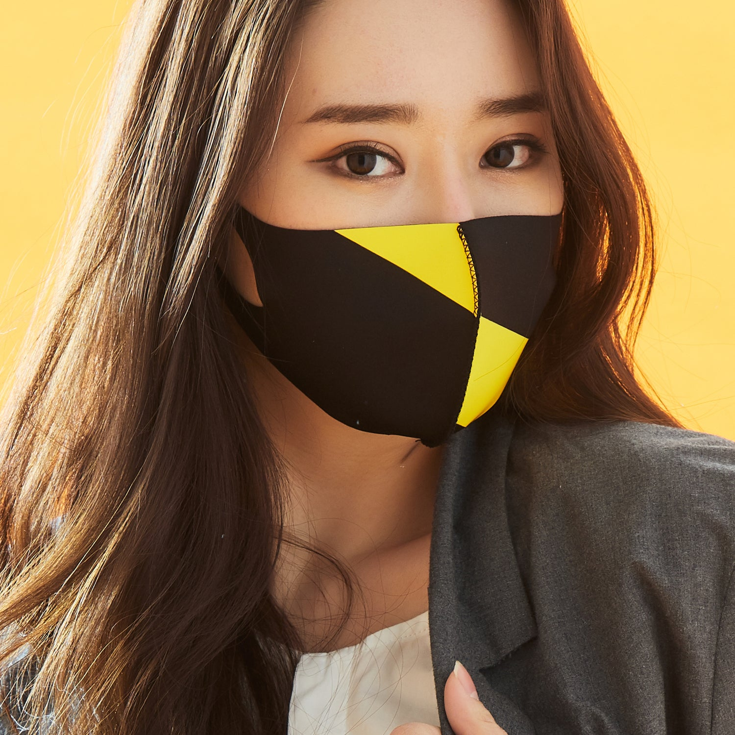 LOOKA MASKS YELLOW PRISM MASK