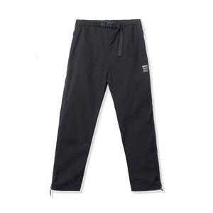 ROKIT M'S PANTS THE CONCEALED FULLZIP TRACKPANTS - BLACK