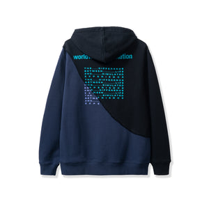 ROKIT M'S HOODIES DOUBLE UP HOODIE - BLACK