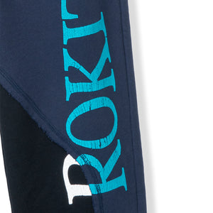 ROKIT M'S PANTS DOUBLE UP SWEATPANTS - BLACK