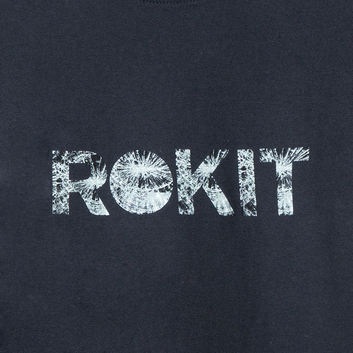 ROKIT M'S T-SHIRTS SHATTERED SS TEE - BLACK