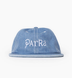 PARRA HATS SCRIPT MIX LOGO 6 PANEL HAT