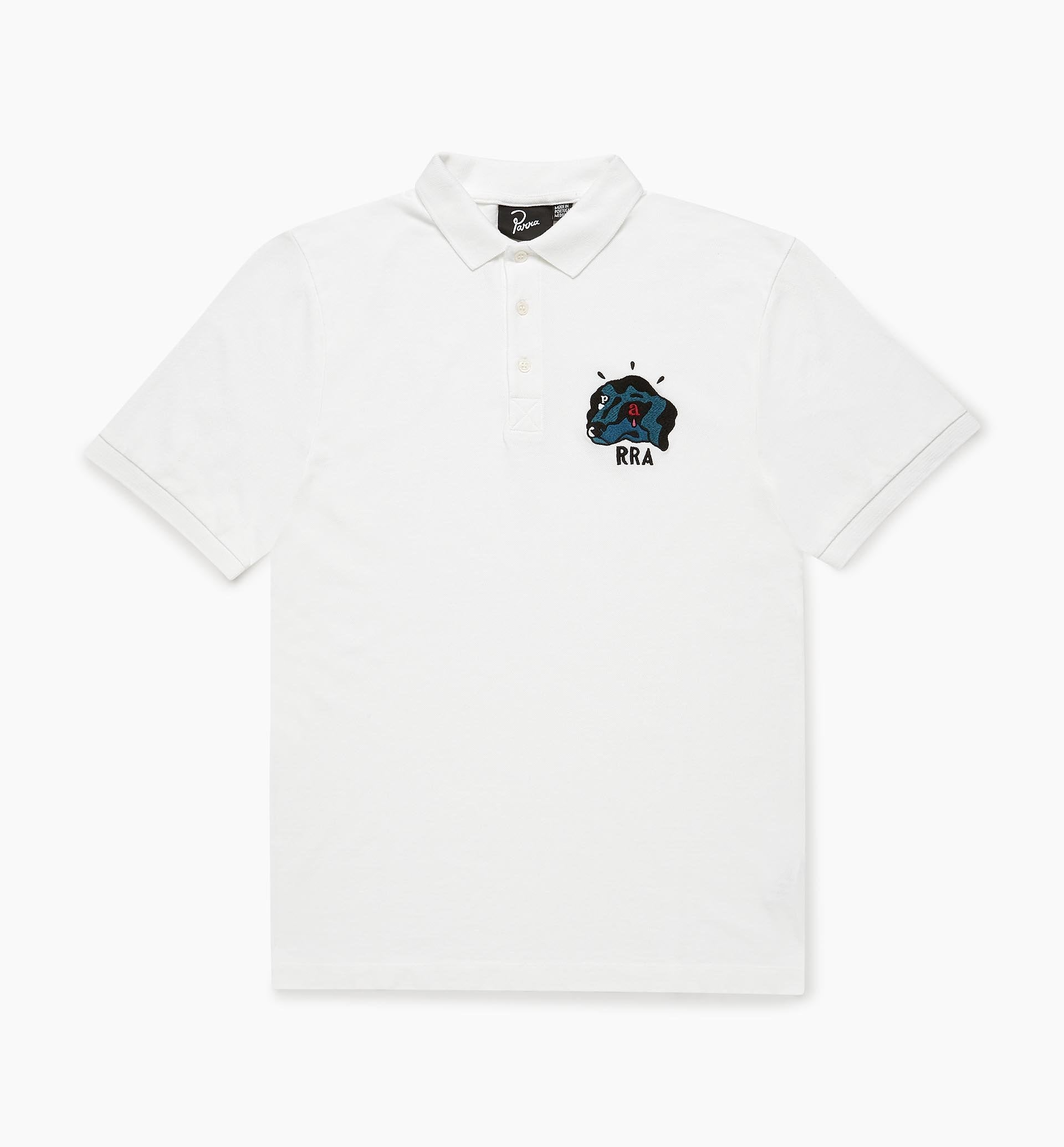 PARRA M'S T-SHIRTS DOGFACED POLO SHIRT