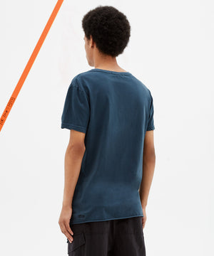 SEEING LINES SHORT SLEEVE T-SHIRT - OMEGA