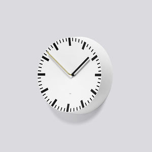 HAY ACCESSORIES WHT O/S HAY ANALOG CLOCK