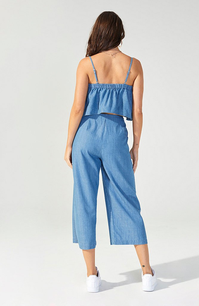 MINK PINK W'S PANTS KEEP IT CASUAL CULOTTE