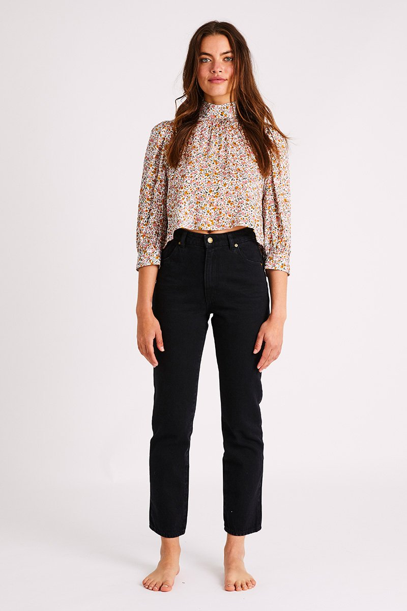 ROLLAS W'S SHIRTS STEPHANIE COAST FLORAL BLOUSE