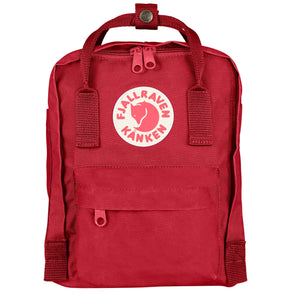 FJALL RAVEN BACKPACKS KANKEN MINI BACKPACK DEEP RED