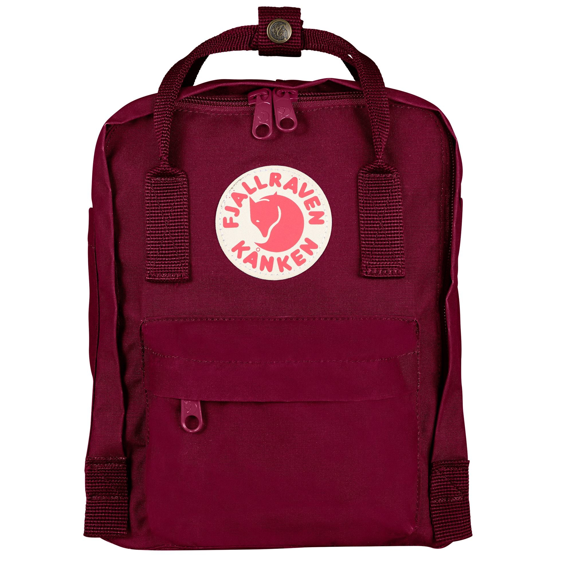 FJALL RAVEN BACKPACKS KANKEN MINI BACKPACK PLUM