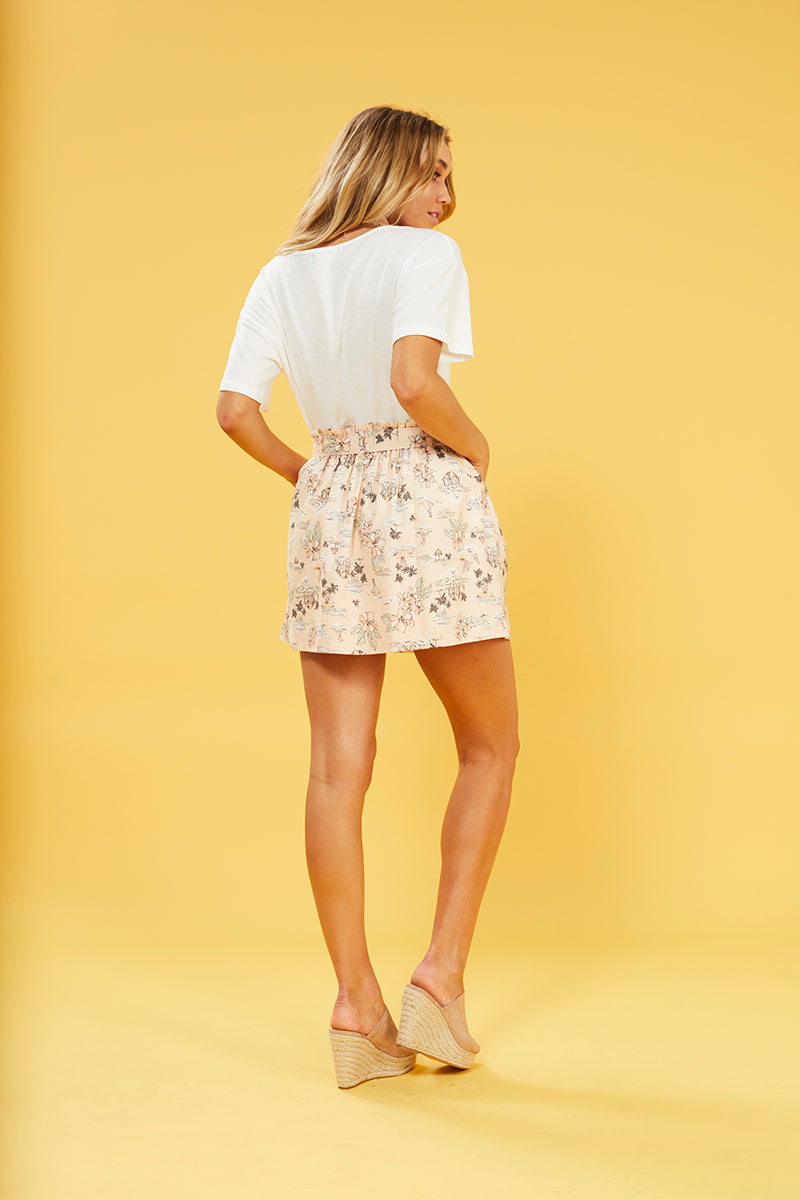 TROPICAL TIDES SKIRT