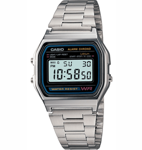 G-SHOCK WATCHES CASIO A158W-1 WATCH