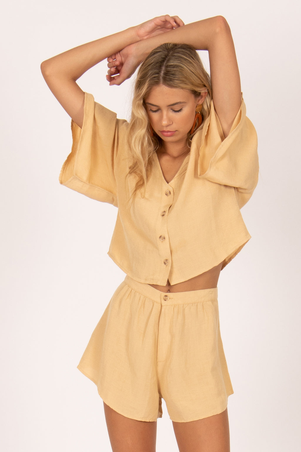 BUNGALOW WOVEN TOP