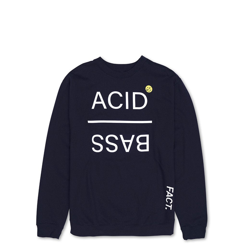 ACID BASS CREWNECK