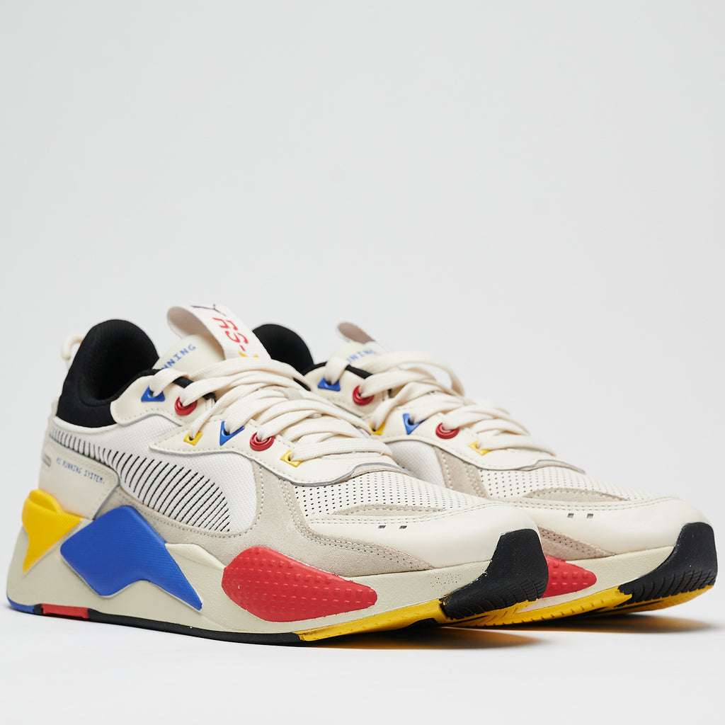 RS-X COLOUR THEORY - WHISPER WHITE/PUMA BLACK