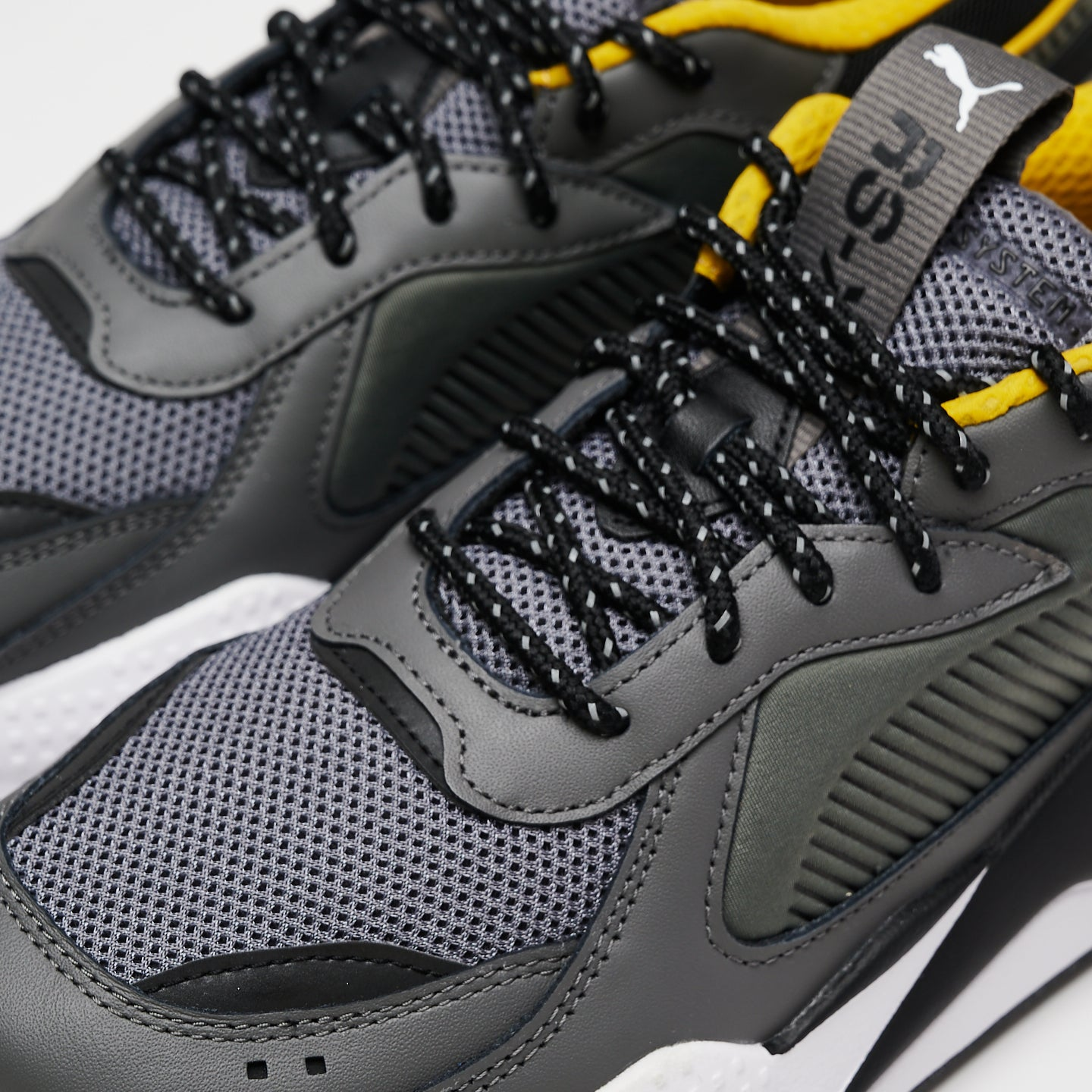 PUMA M'S FOOTWEAR RS-X CORE - CASTLE ROCK/PUMA BLACK