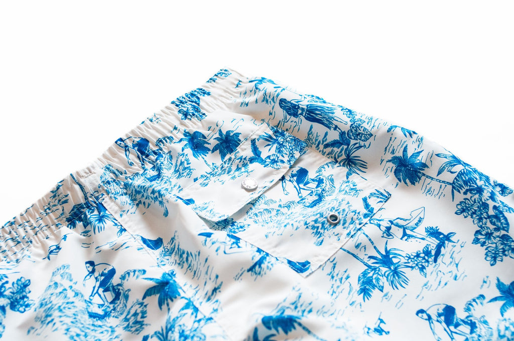 TOILE SWIM TRUNK