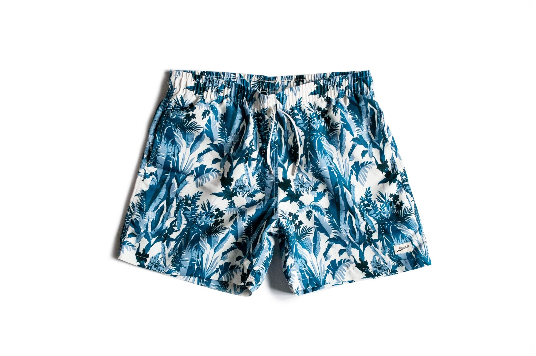 BATHER M'S SHORTS BLU M TROPICAL FOREST SWIM TRUNK