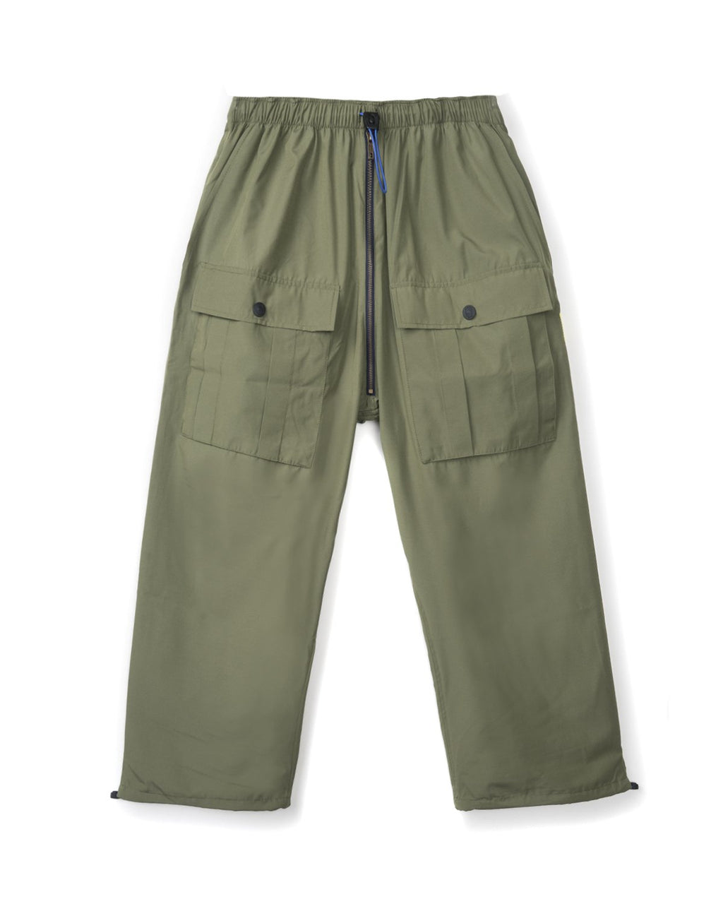 NYLON FLIGHT PANT - GREEN