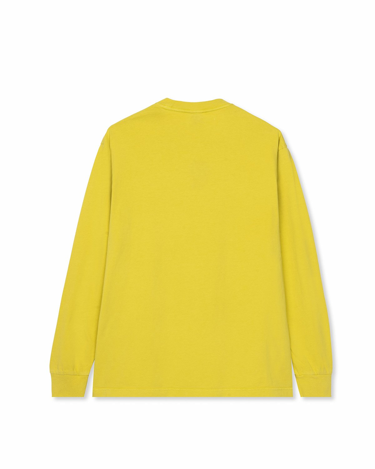 BRAINDEAD M'S T-SHIRTS CLEAN LOVE LONG SLEEVE SHIRT - YELLOW